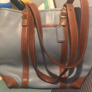 Well loved coach bag needs new home..